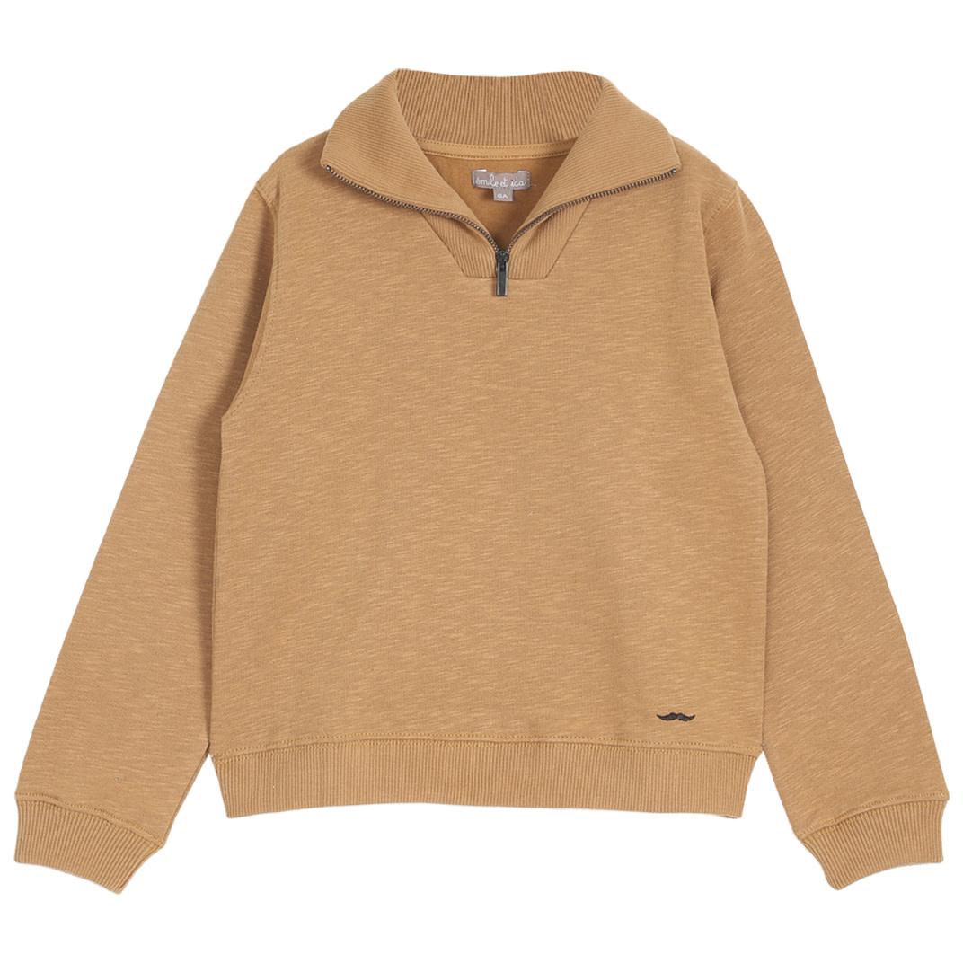 EMILIE ET IDA Cotton Flamme Sweatshirt