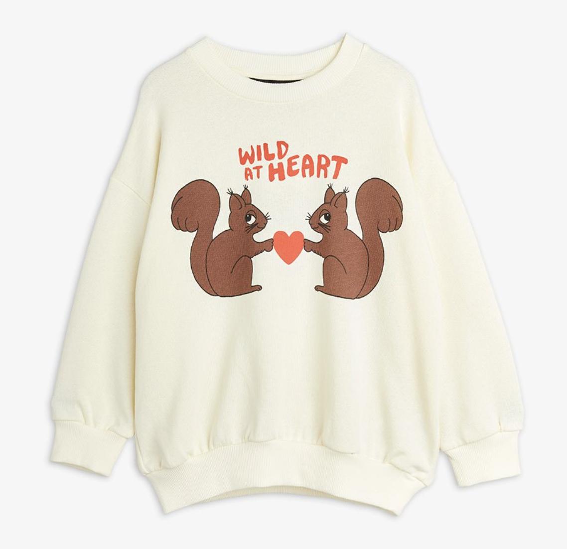MINI RODINI Wild At Heart Sweatshirt