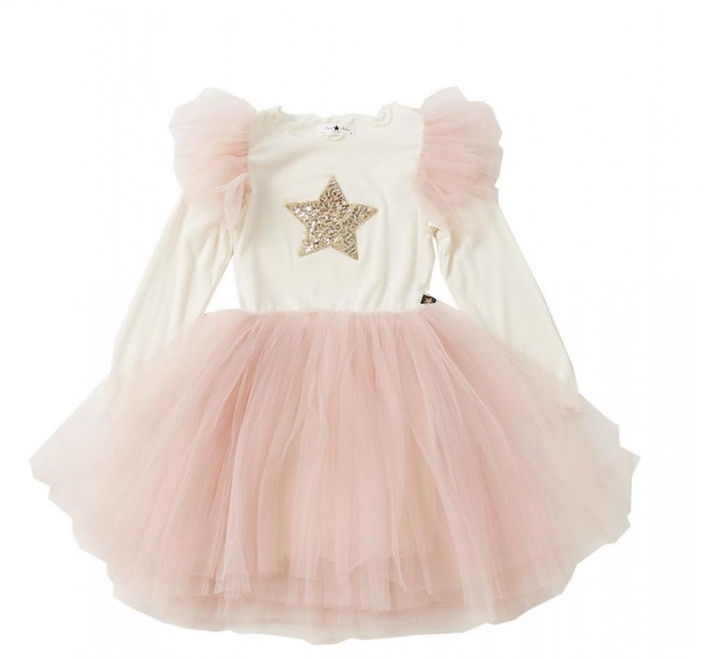 PETITE HAILEY PH Frill Tutu Dress