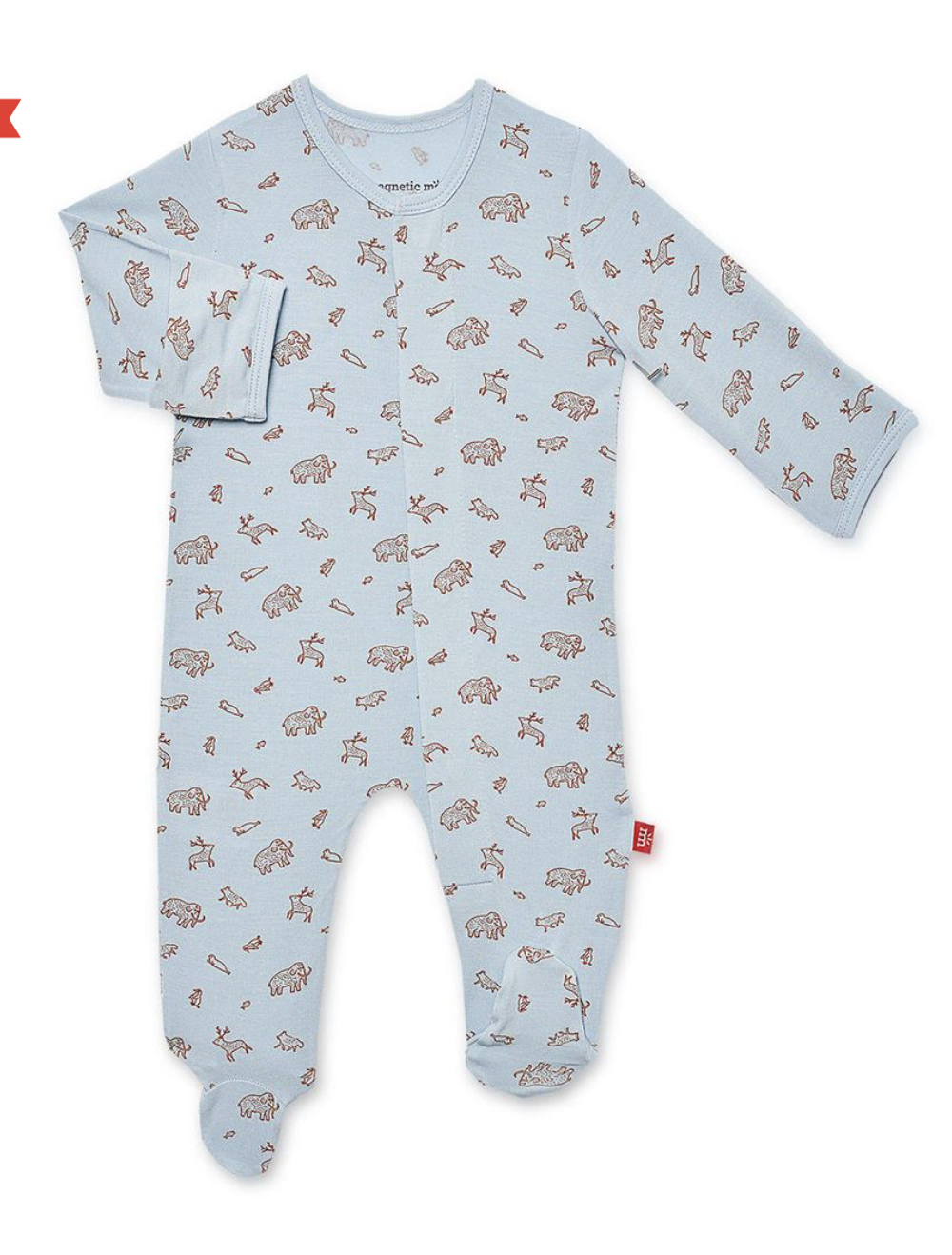 MAGNIFICENT BABY Jasper Modal Magnetic Footie