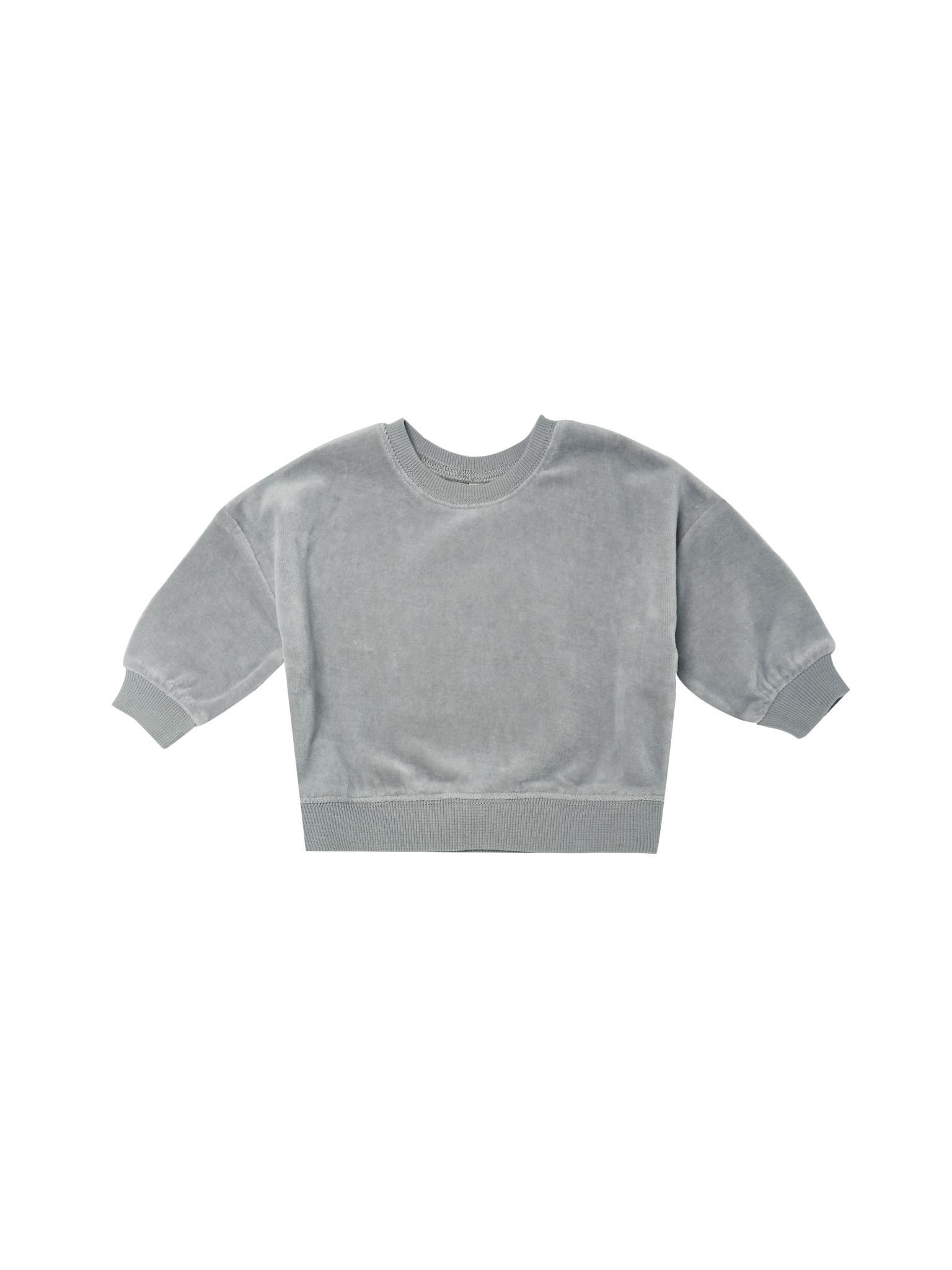 QUINCY MAE Drop Shoulder Sweatshirt
