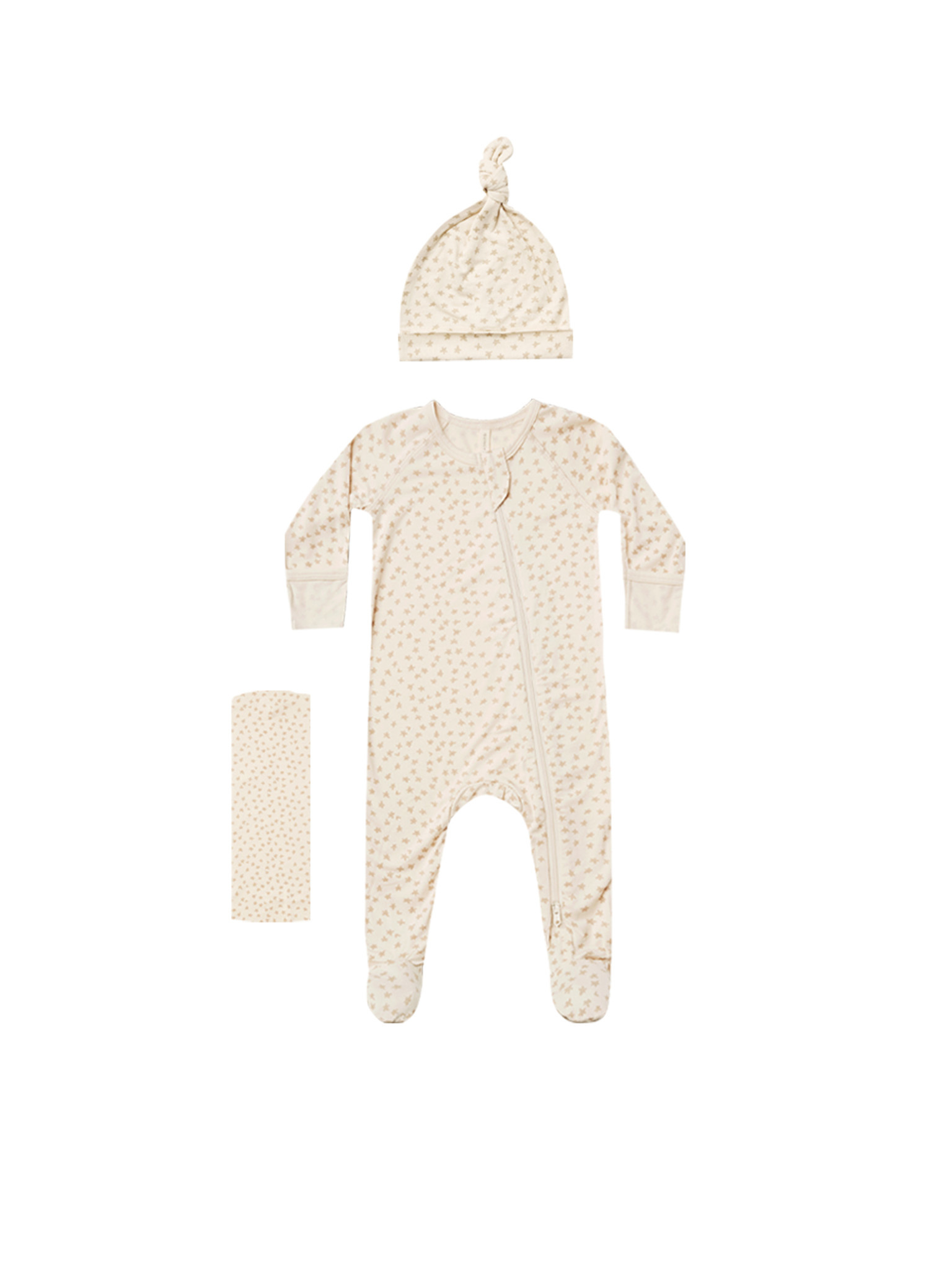 QUINCY MAE Scatter Bamboo Layette Set