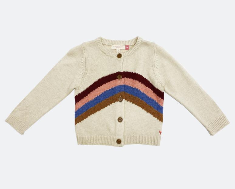 PINK CHICKEN Rainbow Sweater