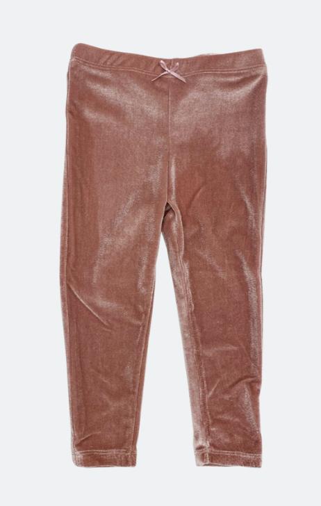 PINK CHICKEN Velour Legging
