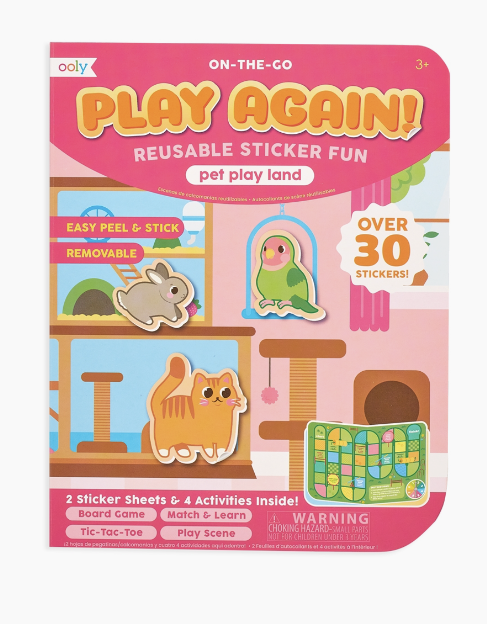 On The Go Activity Kit Pet Play Land