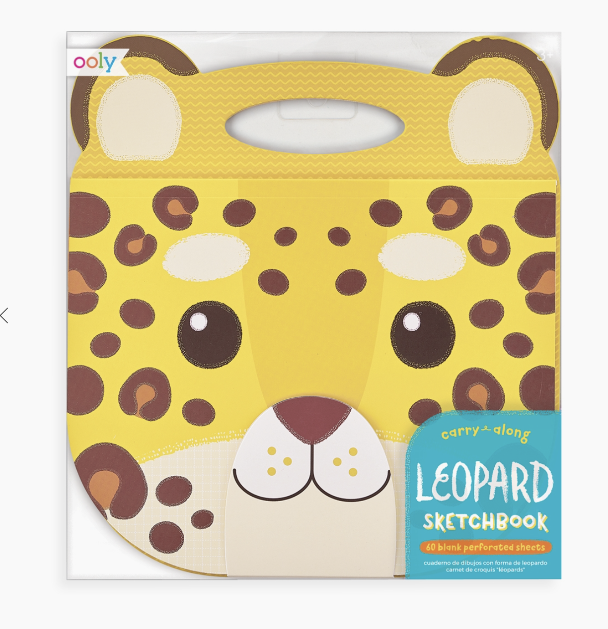 Animal Carry Along Sketchbook-Leopard