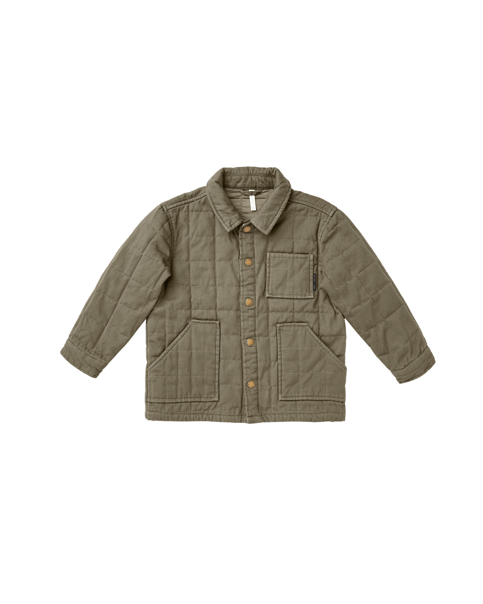 RYLEE AND CRU Quilted Chore Jacket