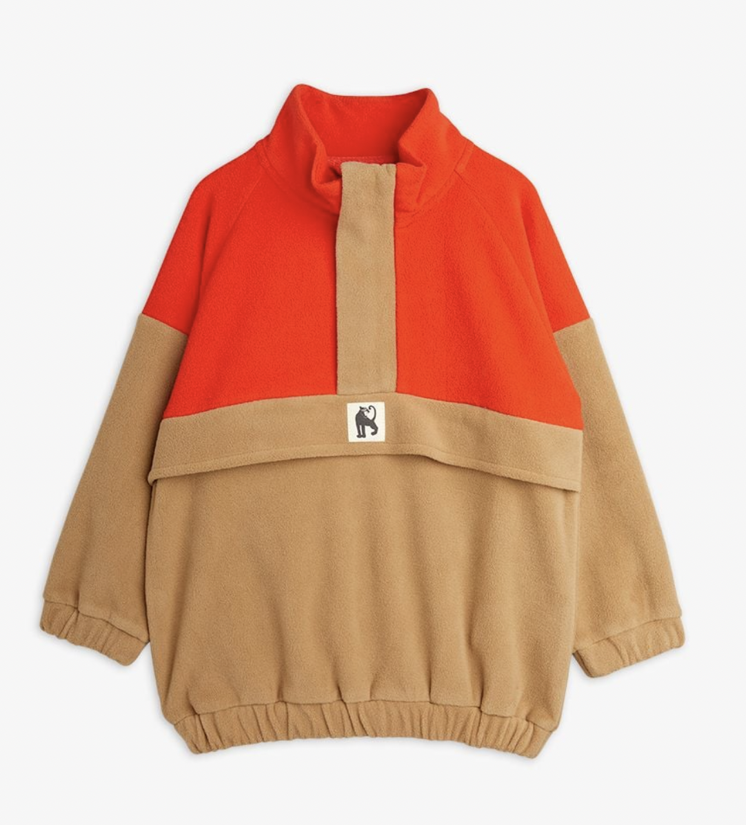 MINI RODINI Fleece Zip Pullover