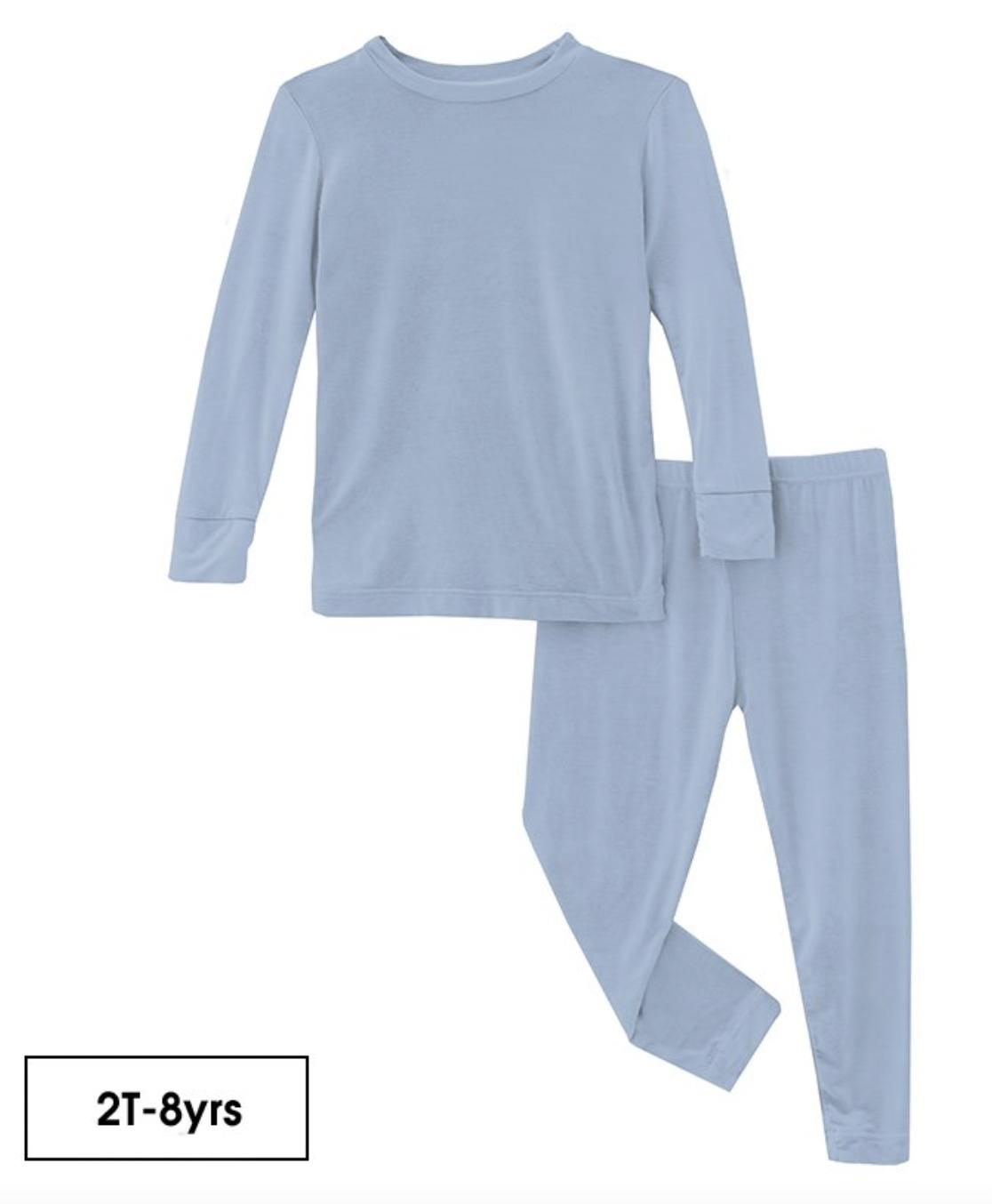 KICKEE PANTS Longsleeve Pajama Set