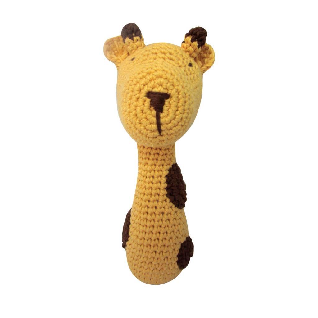 ALBETTA Crochet Giraffe Rattle