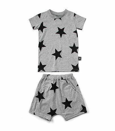 NUNUNU Star Short Loungewear