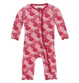 KICKEE PANTS Print Muffin Coverall with Snaps