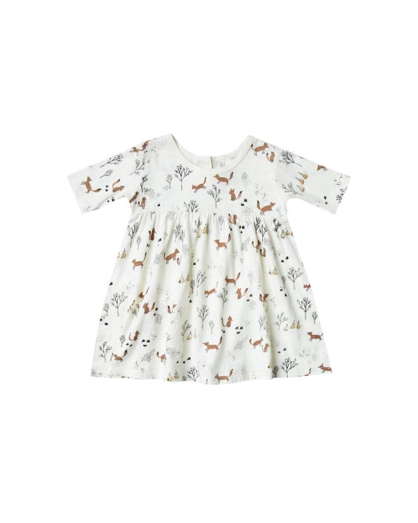 RYLEE AND CRU Baby Fox Land Finn Dress