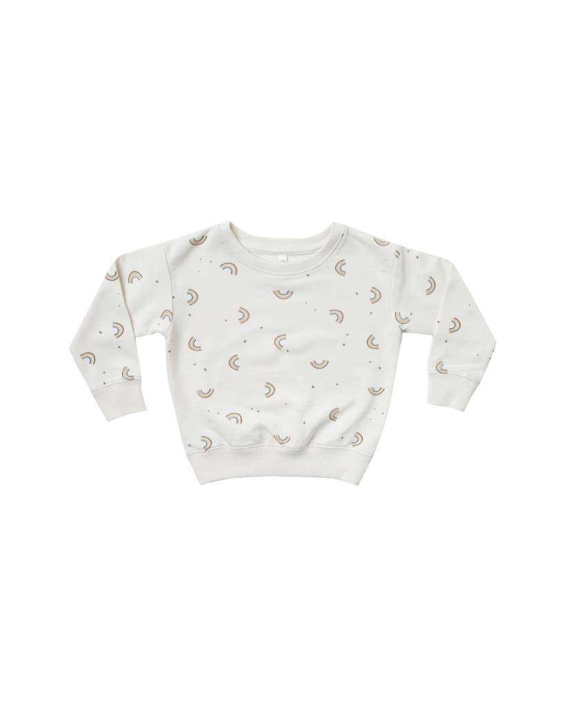 RYLEE AND CRU Baby Rainbow Sweatshirt