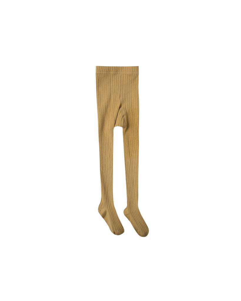 RYLEE AND CRU Baby Solid Ribbed Tights