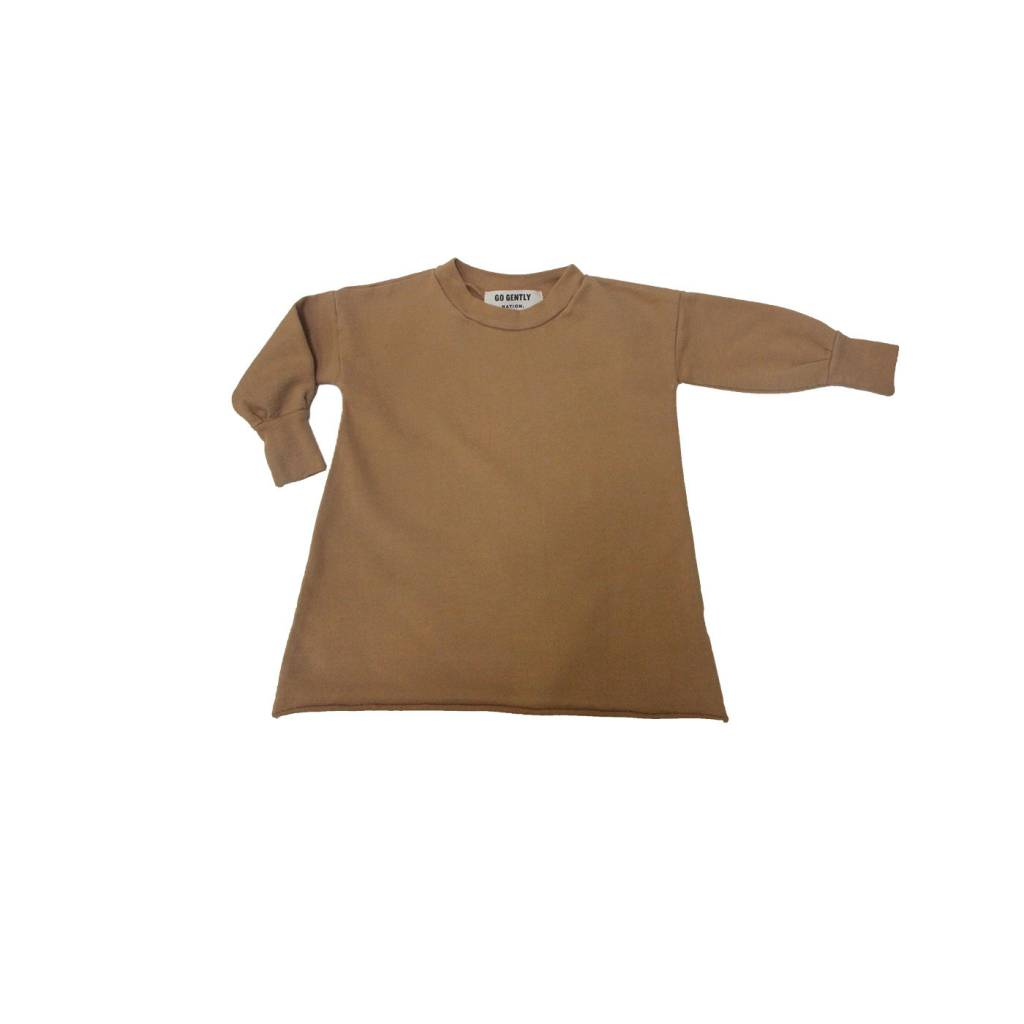 GOGENTLYNATION Puff Sleeve Dress