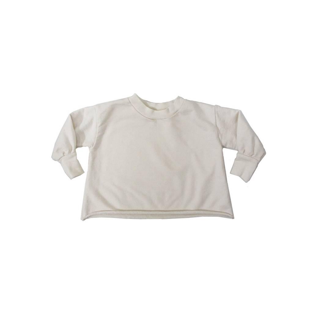 GOGENTLYNATION Puff Sleeve Sweatshirt