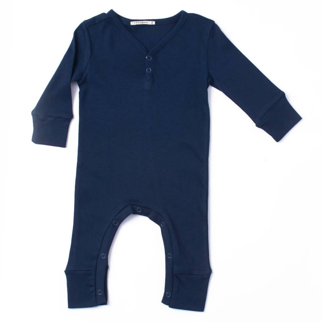 TANE ORGANICS Long Sleeve V Neck Coverall