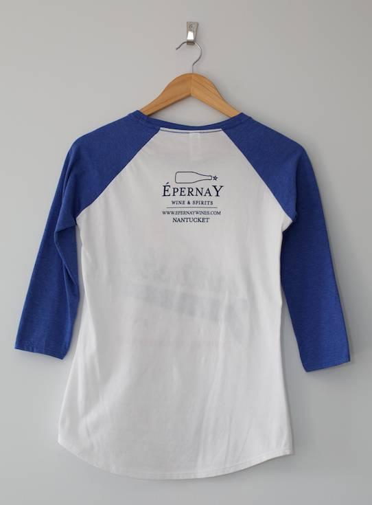 Epernay Baseball Tee Ladies