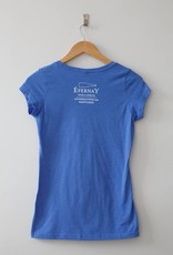 Epernay wine. (blue) Tee Shirt - Women's