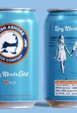 "Wash Ashore Beer Co. ""Boy Meets Girl"" Summer Ale Cans 6pk - 12oz"