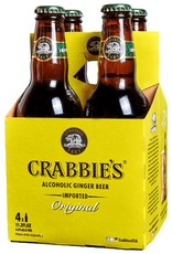 Crabbie's Alcoholic Ginger Beer Bottles 4pk - 11oz
