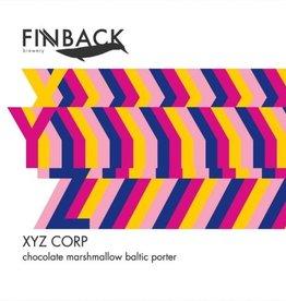 "Finback ""XYZ Corp."" Baltic Porter Cans 4pk - 16oz"