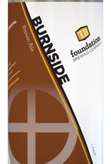 """Foundation Brewing """"Burnside"""" Brown Ale Cans 4pk - 16oz"""