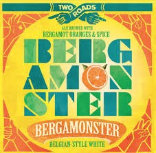"Two Roads ""Bergamonster"" Belgium Style White Cans 6pk"