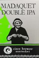 Cisco Brewers Madaquet Double IPA Cans 4pk - 12oz