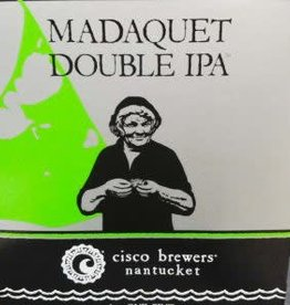 Cisco Brewers Madaquet Double IPA Cans 4pk - 12oz