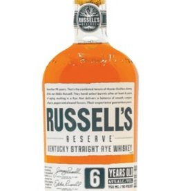 Russell's Reserve 6 Year Old Rye 750ml