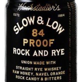 Slow & Low Rock & Rye 100 ml