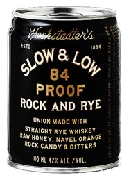 Slow & Low Rock & Rye 100 ml