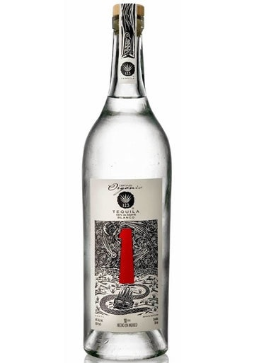 "123 Organic Tequila Blanco ""Uno"" 750ml"