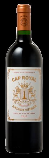Cap Royal Bordeaux Superior Rouge  2015 - 750ml