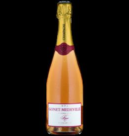 Gonet-Médeville Extra Brut Rosé 1er Cru NV - 750ml