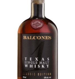 Balcones Texas Single Malt 105 Proof - 750ml