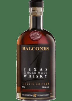 Balcones Texas Single Malt 105 Proof - 750ml