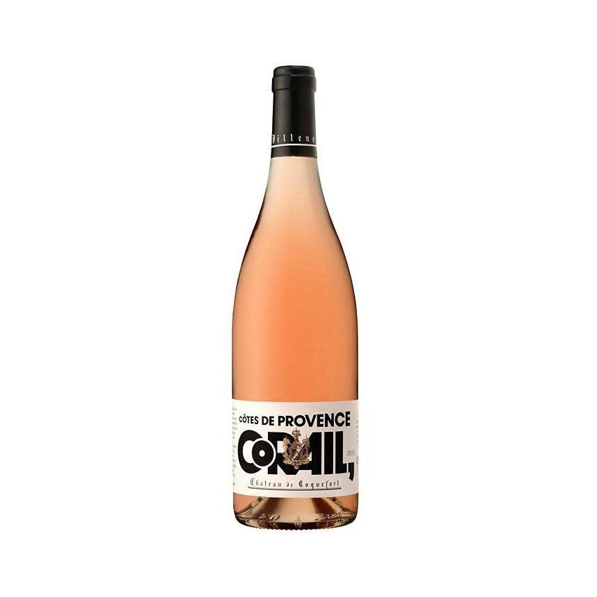 """Chateau de Roquefort """"Corail"""" Rosé 2018 - 750ml"""