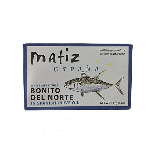 MATIZ Bonito, Tinned in Olive Oil 4 oz