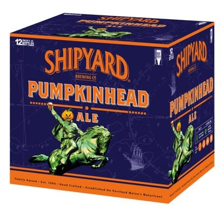 Shipyard Pumpkinhead Ale Bottles 12pk - 12oz