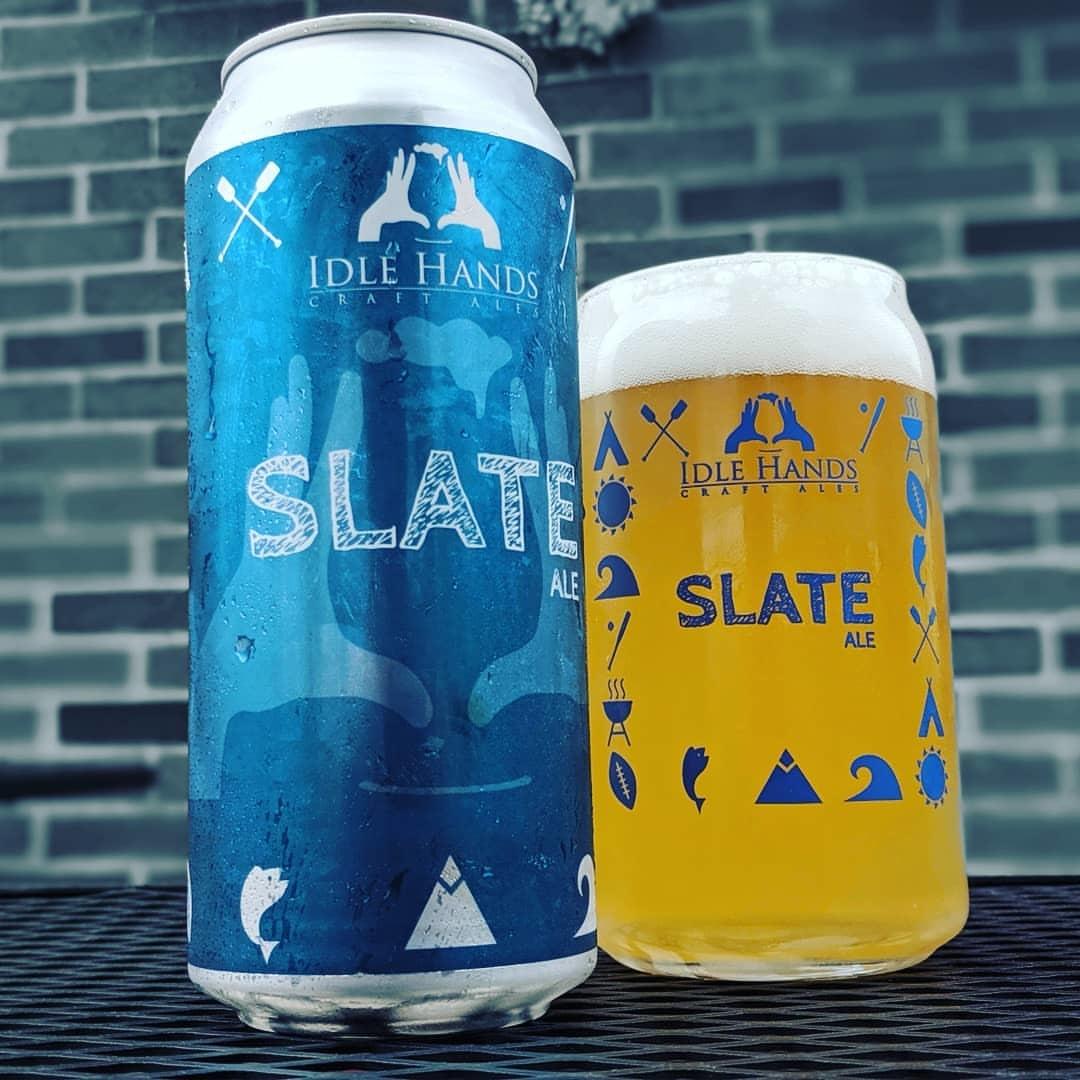 """Idle Hands """"Slate"""" Pale Ale Cans 6pk - 16oz"""