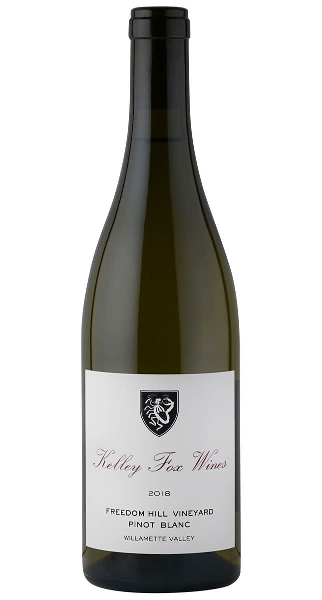 "Kelley Fox Wines Pinot Blanc ""Freedom Hill Vineyard"" 2018 750ml"