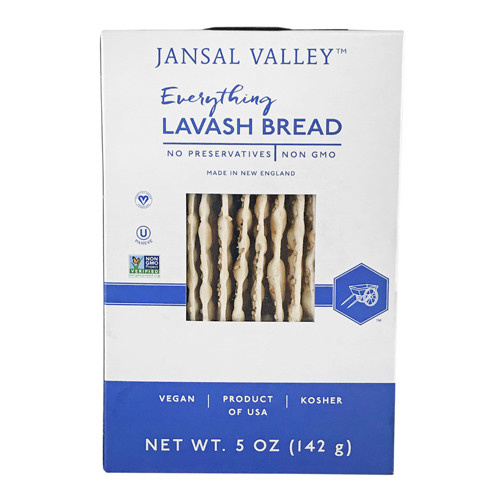 Jansal Valley Crackers Everything Lavash