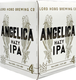 "Lord Hobo ""Angelica"" Hazy IPA Cans 4pk - 16oz"