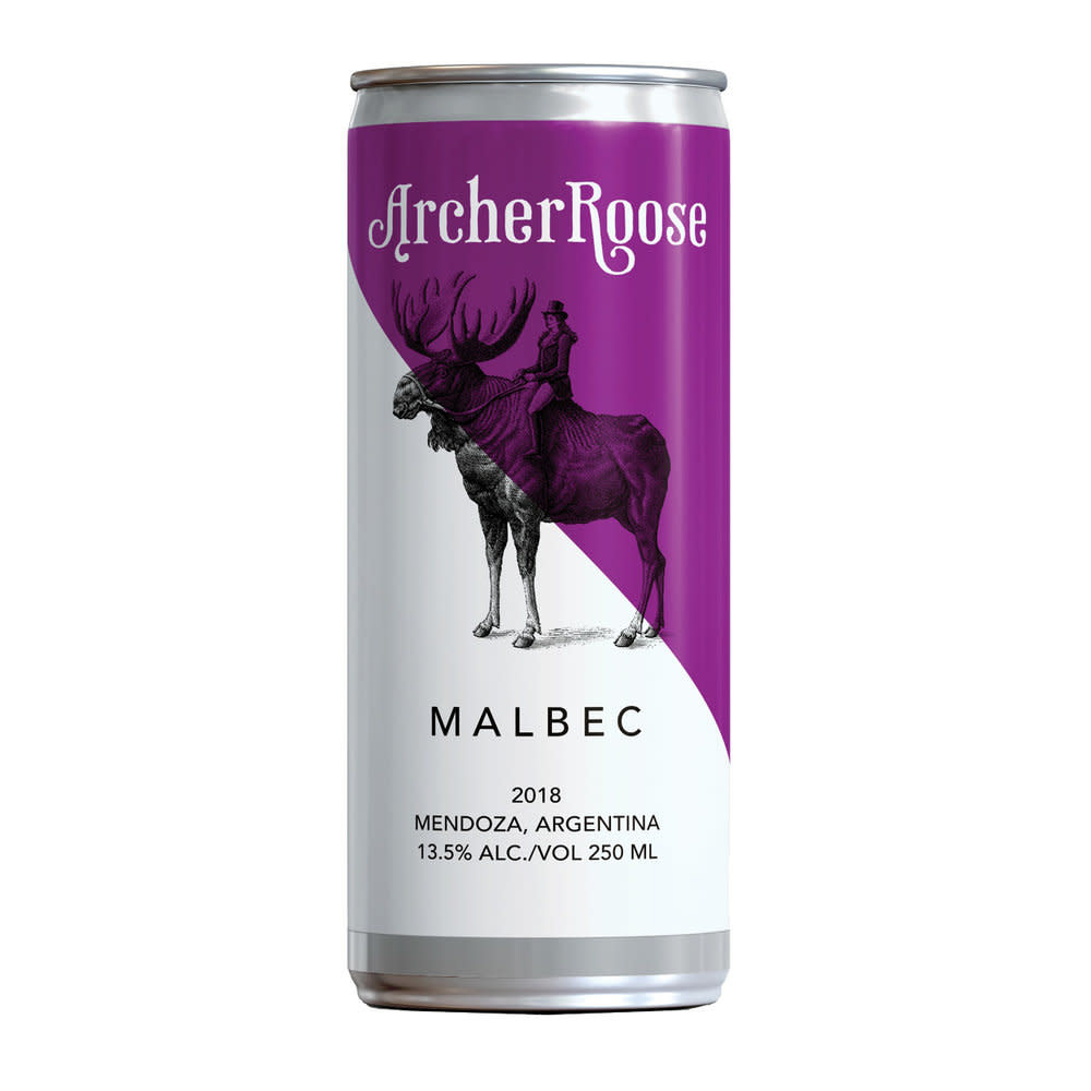 Archer Roose Malbec in a Can 8oz Single