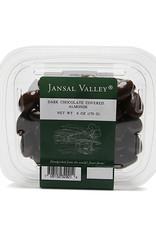 Jansal Valley Dark Chocolate Covered Almonds 6 oz