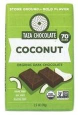 Taza Chocolate Bar Coconut 2.5 oz