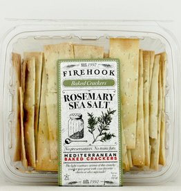 Firehook Crackers Rosemary Sea Salt 7 oz